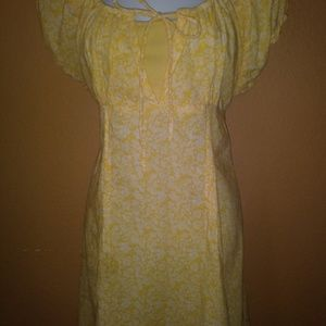 Pretty little yellow sun dress